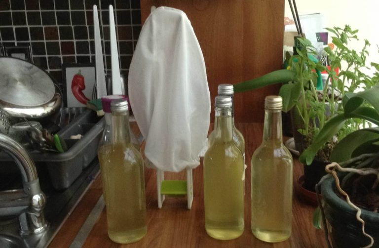 jelly bag drying rack