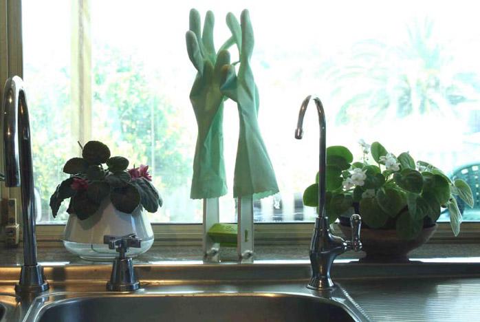 washing up glove drying rack